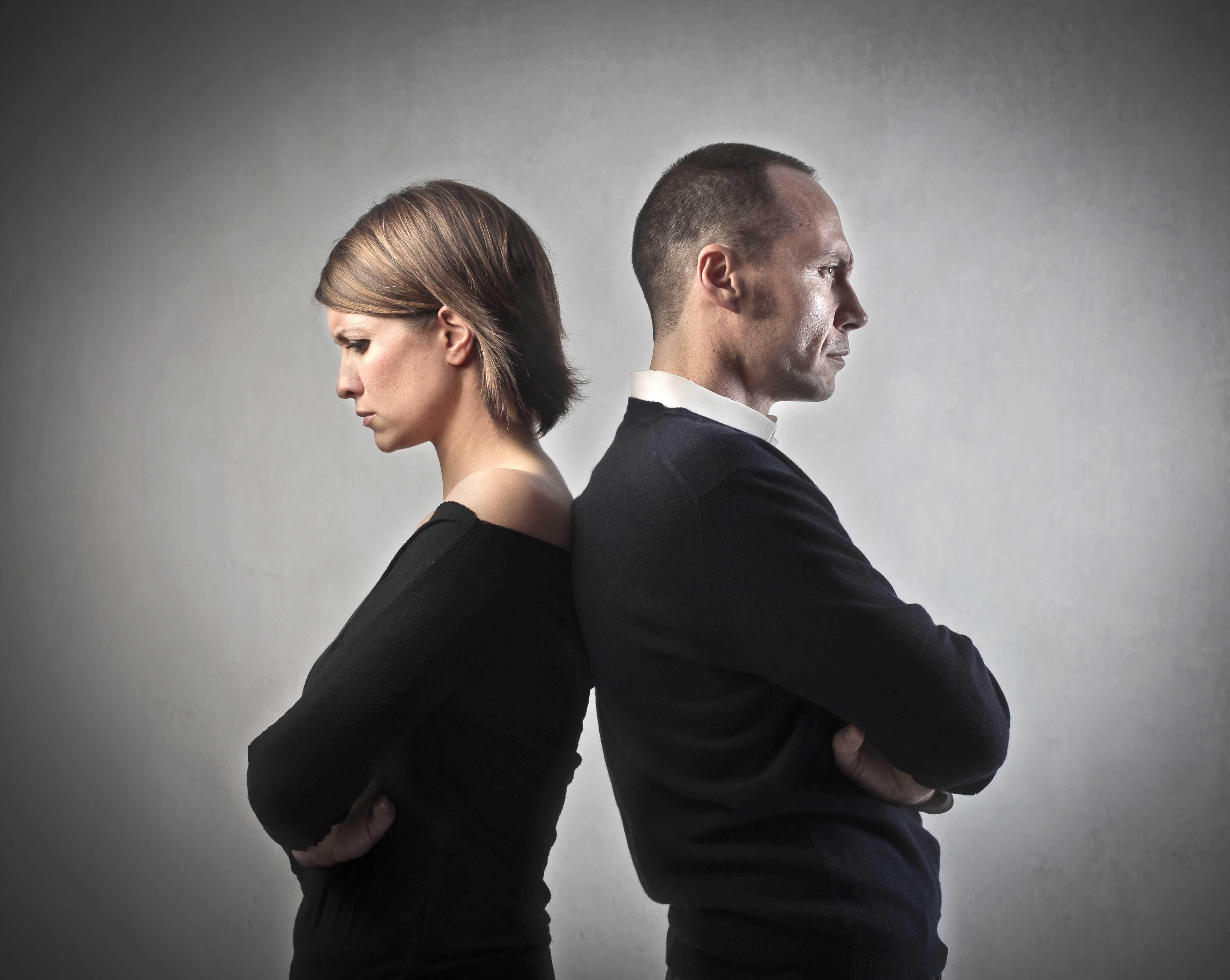 A Couple Going Through Divorce