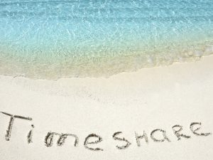 Timeshare Inscription on a Beach Property