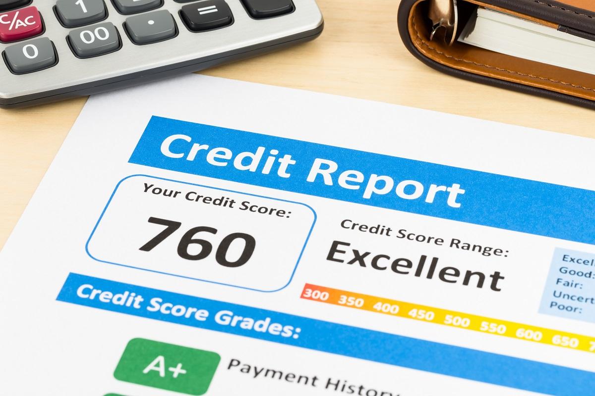 Excellent credit report