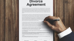 Copy of divorce agreement
