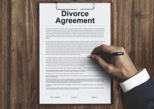 Copy of divorce agreement